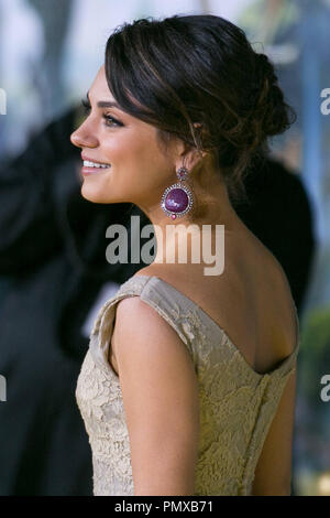 Mila Kunis attends the premiere Of Walt Disney Pictures' 'Oz The Great And Powerful' at the El Capitan Theatre on February 13, 2013 in Hollywood, California. Photo by Eden Ari / PRPP / PictureLux - Stock Photo