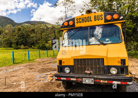 A typical view in Costa Rica - Stock Photo