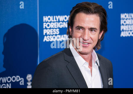 Dermot Mulroney attends the Hollywood Foreign Press Association's 2013 Installation Luncheon at The Beverly Hilton Hotel on August 13, 2013 in Beverly Hills, California. Photo by Eden Ari / PRPP / PictureLux   File Reference # 32080_036PRPPEA  For Editorial Use Only -  All Rights Reserved - Stock Photo