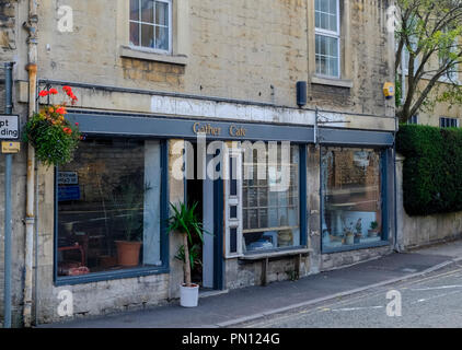 Batheaston, a suburb of Bath, somerset england UK The Gather Cafe - Stock Photo