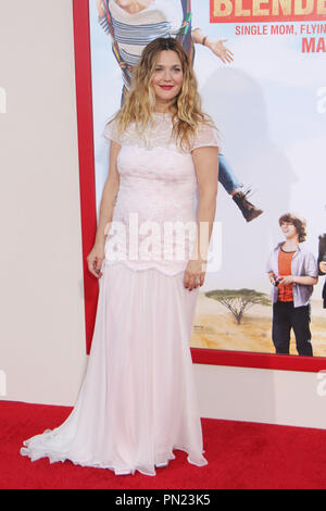 Drew Barrymore  05/21/2014 Los Angeles premiere of 'Blended' held at TCL Chinese Theatre in Hollywood, CA Photo by Izumi Hasegawa / HNW / PictureLux - Stock Photo