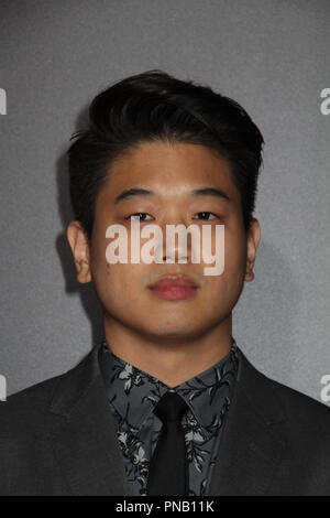 Ki Hong Lee  01/18/2018 Red Carpet Fan Screening of 'Maze Runner: The Death Cure' held at AMC Century City 15 at Westfield Century City Mall in Los Angeles, CA Photo by Izumi Hasegawa / HNW / PictureLux - Stock Photo