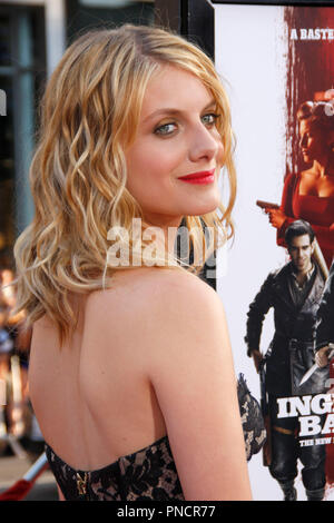 Melanie Laurent at the Los Angeles Premiere of INGLORIOUS BASTERDS held at the Grauman's Chinese Theatre in Hollywood, CA on Monday, August 10, 2009. Photo by PRPP / PictureLux  File Reference # Melanie_Laurent_04_81009PRPP  For Editorial Use Only -  All Rights Reserved - Stock Photo