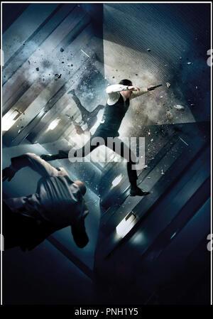 Prod DB © Warner Bros. Pictures - Legendary Pictures / DR INCEPTION de Christopher Nolan 2010 USA visuel d'affiche - Stock Photo