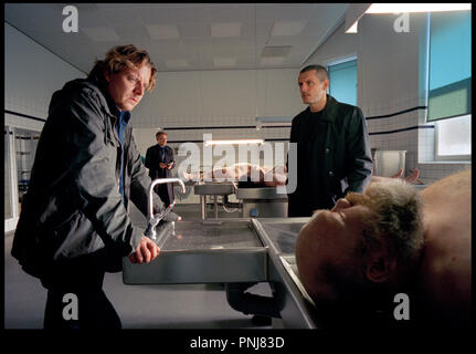 Prod DB © Henrik Saxgren - Thura Film / DR JUST ANOTHER LOVE STORY (KAERLIGHED PA FILM) de Ole Bornedal 2007 DAN. avec Anders W. Berthelsen morgue, cadavre - Stock Photo