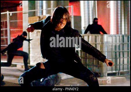 Prod DB © Warner Bros. Pictures / DR NINJA ASSASSIN de James McTeigue 2009 USA/ALL. avec Rain arts martiaux - Stock Photo