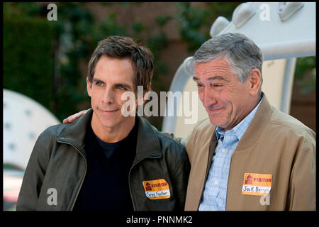 Prod DB © Paramount Pictures -  Universal Pictures - Tribeca Productions / DR MON BEAU-PERE ET NOUS (LITTLE FOCKERS) de Paul Weitz 2010 USA avec Ben Stiller et Robert De Niro  suite, sequelle, - Stock Photo