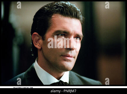 Prod DB © MGM / DR PECHE ORIGINAL (ORIGINAL SIN) de Michael Cristofer 2001 USA avec Antonio Banderas portrait, - Stock Photo