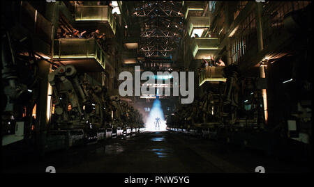 Prod DB © DreamWorks SKG - Angry Films / DR REAL STEEL de Shawn Levy 2011 USA science fiction, anticipation, robot - Stock Photo