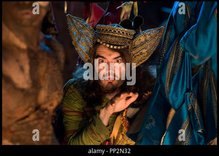 Prod DB © Touchstone Pictures - Miramax Films / DR LA TEMPETE (THE TEMPEST) de Julie Taymor 2010 USA avec Russell Brand sorcier, conteur d'apres la piece de William Shakespeare - Stock Photo