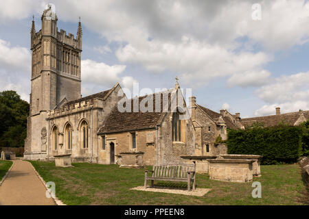St Mary the Virgin Church, Westwood, Wiltshire - Stock Photo