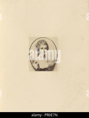 Mary Isabella, Duchess of Rutland; Charles Thurston Thompson, English, 1816 - 1868, London, England; 1865; Albumen silver print - Stock Photo