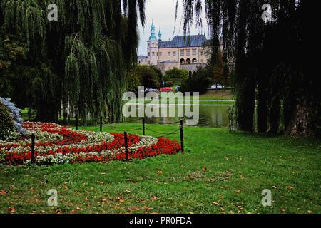 Kilelce City, Poland - Stock Photo