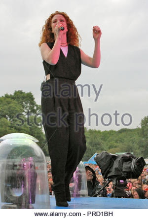 Jess Glynne at the fusion festival at cofton park, birmingham on sunday 30 August 2015 - Stock Photo