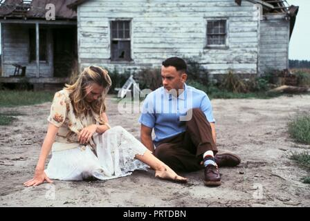 Original film title: FORREST GUMP. English title: FORREST GUMP. Year: 1994. Director: ROBERT ZEMECKIS. Stars: TOM HANKS; ROBIN WRIGHT. Credit: PARAMOUNT PICTURES / Album - Stock Photo