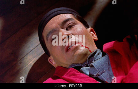 Prod DB © Hammer Film Productions - Merlin Film Productions / DR L'EMPREINTE DU DRAGON ROUGE THE TERROR OF THE TONGS de Anthony Bushell 1961 GB. avent - Stock Photo