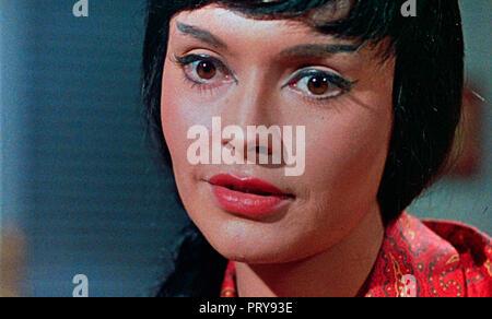Prod DB © Hammer Film Productions - Merlin Film Productions / DR L'EMPREINTE DU DRAGON ROUGE THE TERROR OF THE TONGS de Anthony Bushell 1961 GB. Yvonn - Stock Photo
