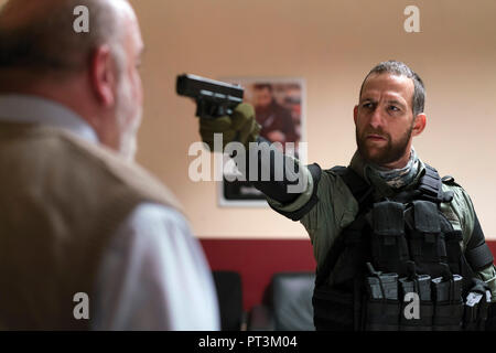 Prod DB © Elena Nenkova - Millennium Films - 211 Productions - Nu Image Bulgaria / DR 211 de York Alec Shackleton 2018 USA Ori Pfeffer. action; braqua - Stock Photo