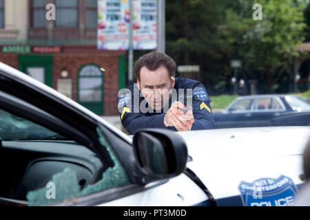 Prod DB © Elena Nenkova - Millennium Films - 211 Productions - Nu Image Bulgaria / DR 211 de York Alec Shackleton 2018 USA Nicolas Cage. action; polic - Stock Photo