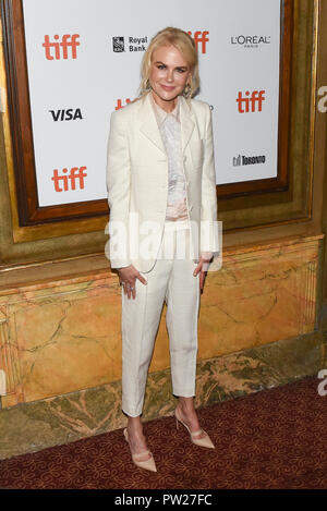 43rd Toronto International Film Festival - Destroyer - Premiere  Featuring: Nicole Kidman Where: Toronto, Canada When: 10 Sep 2018 Credit: Jaime Espinoza/WENN.com - Stock Photo