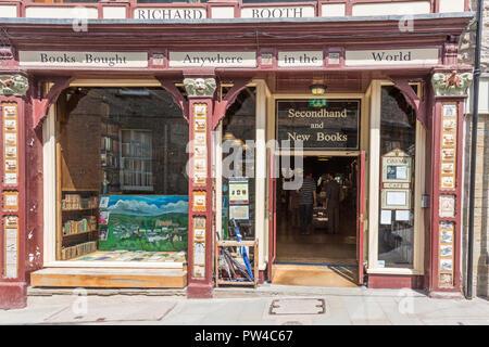 Booths Bookshop, Hay on Wye - Stock Photo