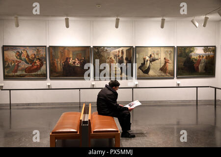 MusŽe des Beaux-Arts, Lyon, France. Fine Art museum, Lyon, France. - Stock Photo