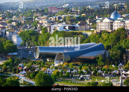 Georgia, Tbilisi, Exhibition and Concerts hall - Stock Photo