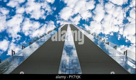palazzo Allianz  Milano - Stock Photo