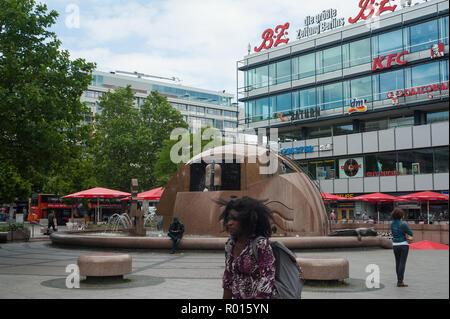 Berlin, Germany, Europa-Center at Breitscheidplatz - Stock Photo