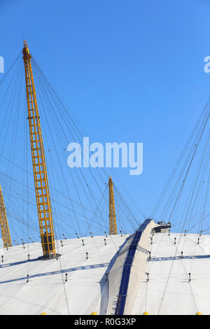 The Climb at the O2, at the arena, on the Greenwich Peninsular, SE London, UK - Stock Photo