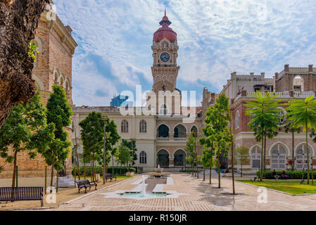 KUALA LUMPUR, MALAYSIA - JULY 22: This is a view of the Sultan Abdul Samad Building an historic building and popular travel destination on July 22, 20 - Stock Photo