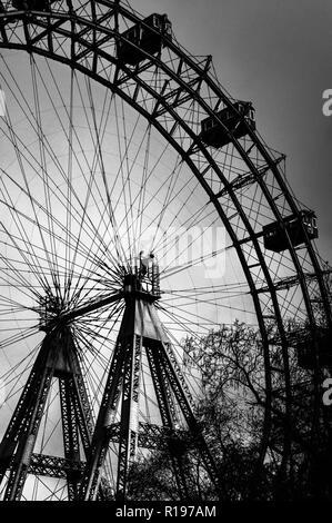 Prater panoramic wheel in Wien - Stock Photo