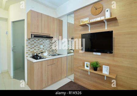 interior small modern apartement - Stock Photo