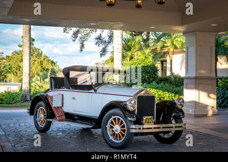 1926 Ford Model T Roadster at Quail Creek Country Club, Naples, Florida, USA - Stock Photo
