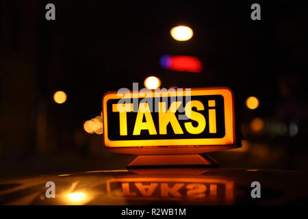 steam taxi - Stock Photo