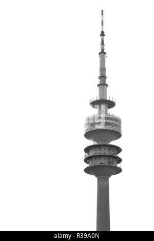 olympic tower munich,optional - Stock Photo