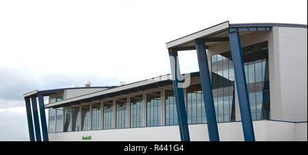 Katowice International Airport near Pyrzowice. Poland - Stock Photo
