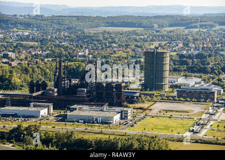 Phoenix West, Hoesch, industrial area, Hoerde, Dortmund, Ruhr district, North Rhine-Westphalia, Germany, Dortmund-Hörde - Stock Photo