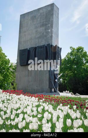 Wielkopolska monument Poznan, view of the Wielkopolska Uprising Monument  celebrating the regaining of national independence in western Poland in 1918 - Stock Photo