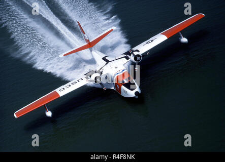 Grumman Albatross Airplane - Stock Photo