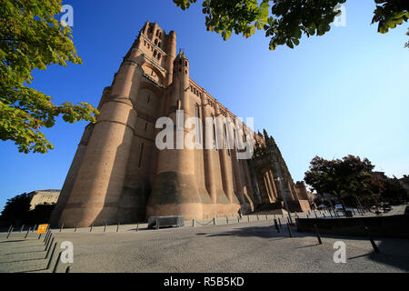 Albi town near Toulouse in the Tarn region of southern France. - Stock Photo