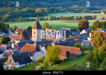 Village d'Aucun, Hautes- Pyrenees, France - Stock Photo