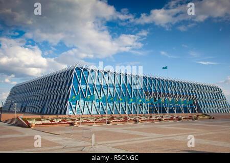 Kazakhstan, Astana, Palace of Independence - Stock Photo
