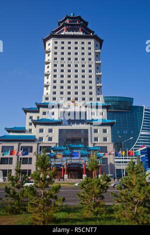 Kazakhstan, Astana, The Beijing Palace Soluxe Hotel - Stock Photo
