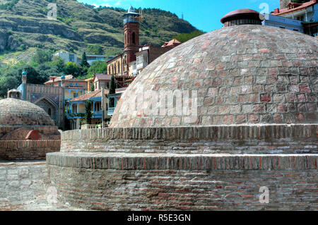 Sulphur Bathhouses, Tbilisi, Georgia - Stock Photo