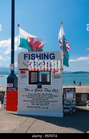 United Kingdom, Wales, Gwynedd, Anglesey, Beaumaris - Stock Photo