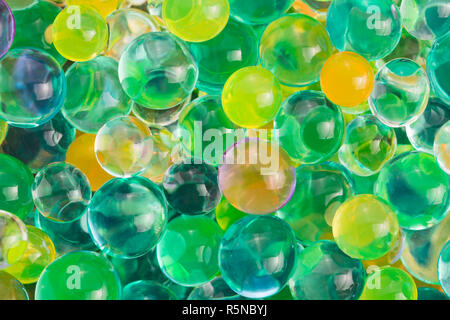 color balls,hydrogel beads - Stock Photo