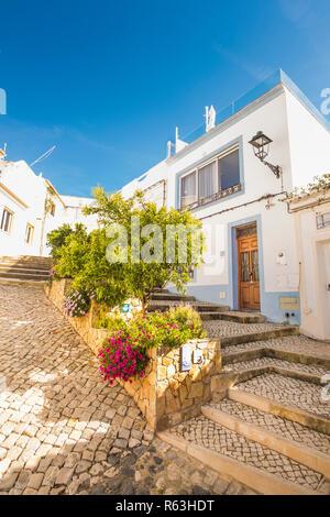 ferragudo, algarve, portugal - Stock Photo