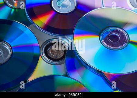 CD shiny background - Stock Photo