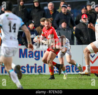 Coventry, UK. 8th December 2018.  James Stokes in action for Coventry during the Championship Cup match played between Coventry rfc and Doncaster Knights rfc at the Butts Park Arena, Coventry. Credit: Phil Hutchinson/Alamy Live News - Stock Photo
